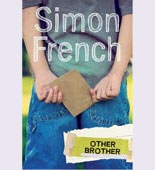 Book cover showing a boy holding an envelope behind his back