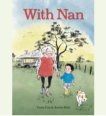 Book cover showing a child and grandparent