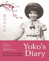 Book cover with a young girl and cherry blossom