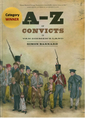 Soldiers, settlers, Aboriginal people and convicts on the cover