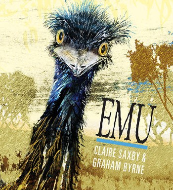In your face emu on cover