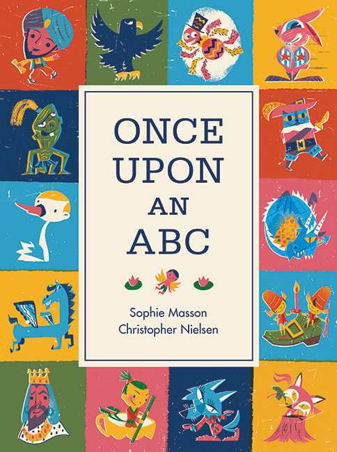 Once Upon an ABC book cover