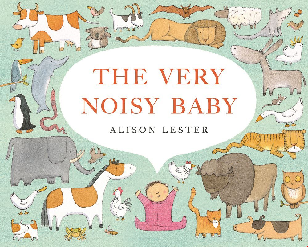 The Very Noisy Baby book cover