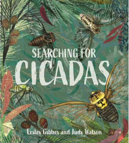 Searching for Cicadas, book cover