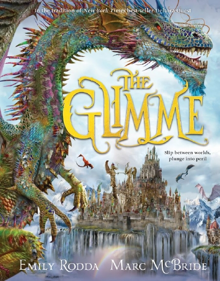 The Glimme, book cover