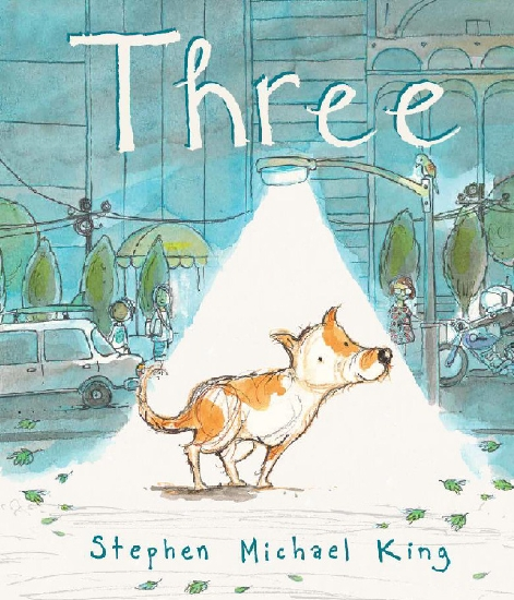 Three, book cover