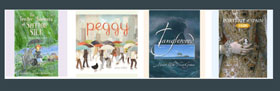 Row of book cover thumbnails from 2013 CBCA Short List