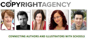 Image of featured authors:  Copyright Agency, Authors and Illustrators in Schools