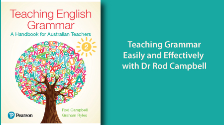Teaching Grammar Easily and Effectively linked to booking page